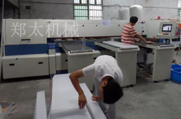 浙江依琪标牌厂再次购买郑太电子锯 助力亚克力制品快速发展